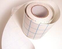 2' White Adhesive Fabric Book Cloth Tape Bookbinding Supplies Book Repair Tape Mixed Media Destash