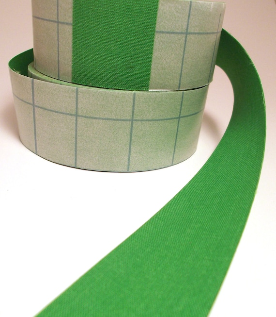 3' Lime Green Adhesive Fabric Book Cloth Tape Bookbinding
