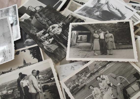 Custom for Isabelle - 50 Vintage Photographs