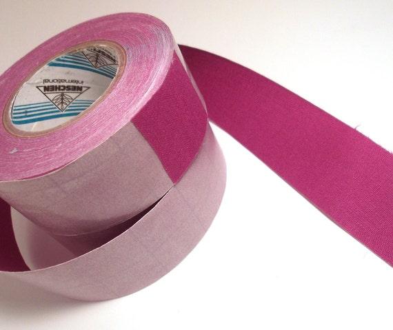 1' Purple Adhesive Fabric Book Cloth Tape Bookbinding