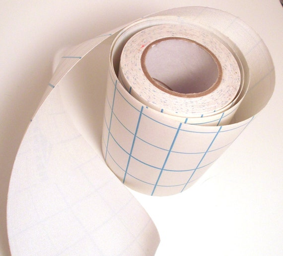 5' White Adhesive Fabric Book Cloth Tape Bookbinding Supplies Book Repair Tape Mixed Media Destash
