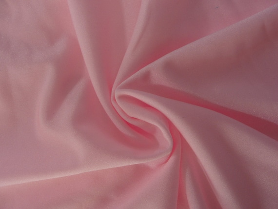 Light pink nylon spandex 4way stretch fabric, for sale by the yard