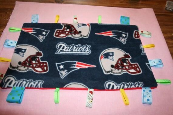 New England Patriots Tag Blanket