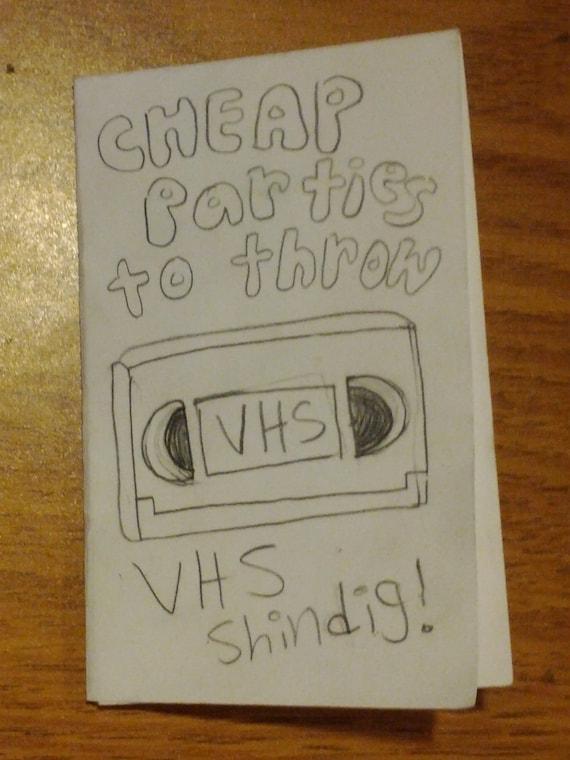 Cheap Parties: VHS Shindig (DIY guide)