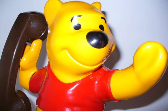Vintage Winnie the Pooh Telephone