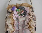 Aunt Matilda's Handbag - Flowers and Lace