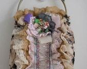 Aunt Matilda's Handbag - Flowers and Lace