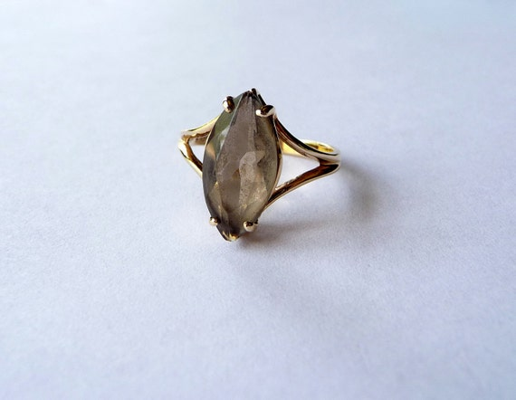 Reserved for Lucy - Smokey Topaz Ring