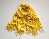 Mustard pashmina scarf, yellow pashmina shawl, yellow fashion scarf, pashmina scarf, pashmina shawl, scarf, shawl