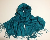 teal pashmina scarf, teal pashmina shawl, teal fashion scarf, pashmina scarf, pashmina shawl, scarf, shawl