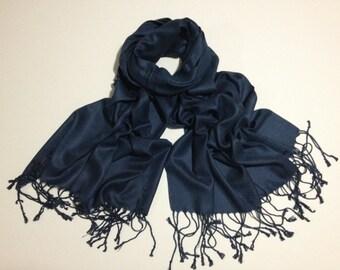 navy pashmina scarf, navy pashmina shawl, navy fashion scarf, pashmina scarf, pashmina shawl, scarf, shawl