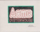 Acme Oyster House Bar & Restaurant - Needlepoint Ornament Canvas