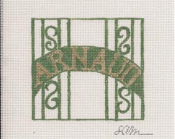 Arnaud's Reataurant & French 75 Bar - Needlepoint Ornament Canvas