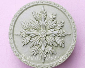 TD008 Royalty Soap Mold, soap mold, silicone soap mold (Kudos Design, Kudosoap) Taiwan