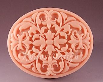 TD018 Gorgeous Spectacle Soap Mold, soap mold, silicone soap mold (Kudos Design, Kudosoap) Taiwan