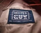 Mister Guy sports blazer