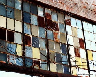 Detroit Photography - 11 x 14 Packard Plant Ruins - Detroit, Michigan
