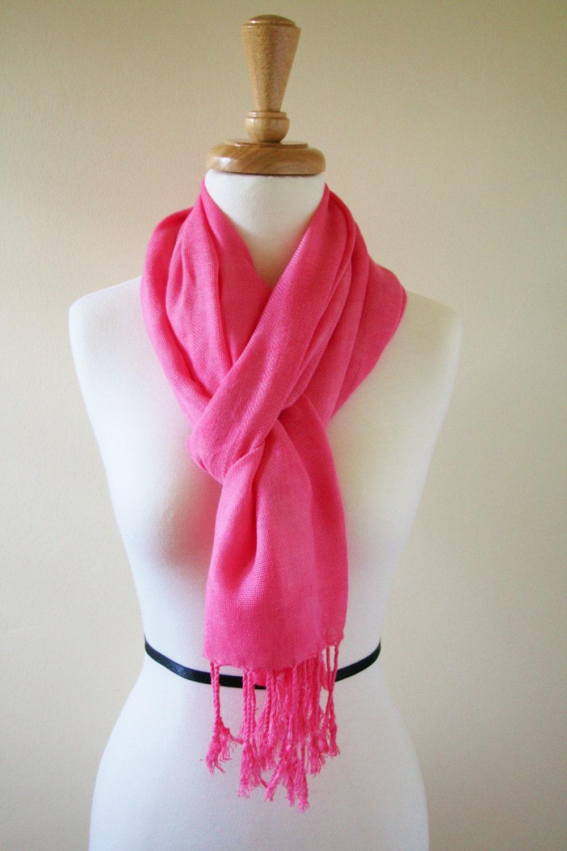 peony pink scarf gum pink wrap shawl bridesmaids