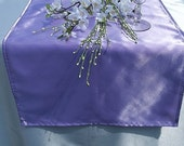 Lilac Table Runner Large Size for Weddings and Special Occasions