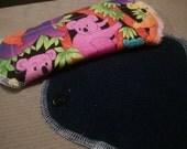 1 x Washable, Reusable Cloth Menstrual Pad - Light Flow - 18.5cm