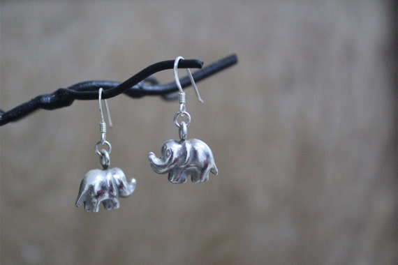 Super Cute Chubby Elephant Earrings