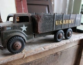 MARX LUMAR US Army Metal Truck