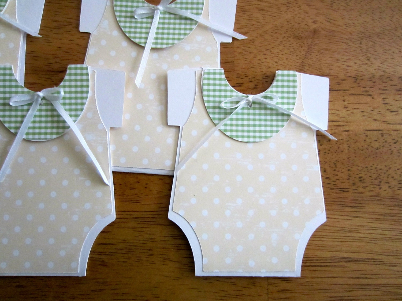 custom listing for carol handmade baby shower invitation