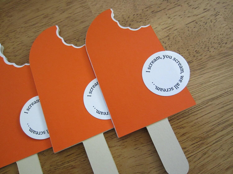 items similar to handmade baby shower invitation ice cream bar shape