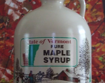 One Half Gallon of Pure VT Maple Syrup