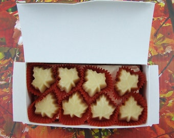 Maple Candy - 16 Little Leaves of Sweetness (Gold Boxed)
