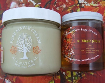 Maple Cream AND Maple Jelly Gift Pack
