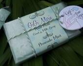 Bon Voyage Size - Avacado Mint Soap