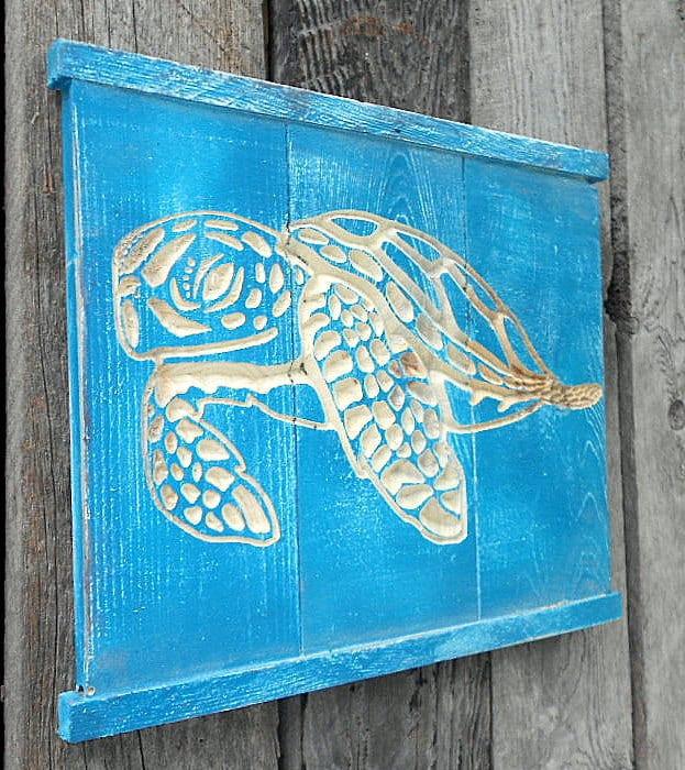 fabulous wooden turtle wall art wall