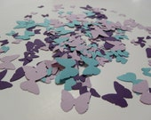 Purple & blue butterfly confetti for weddings, parties, invitations, showers and more