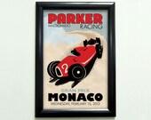 Custom Retro Racing Poster - 11x17 - Printable Digital File
