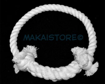 Large // All Natural Cotton Rope Dog Toy Tug Ring
