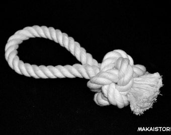 All Natural Cotton Rope Pull Toy - Dog Toy