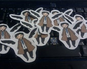 3 Pack Castiel Stickers