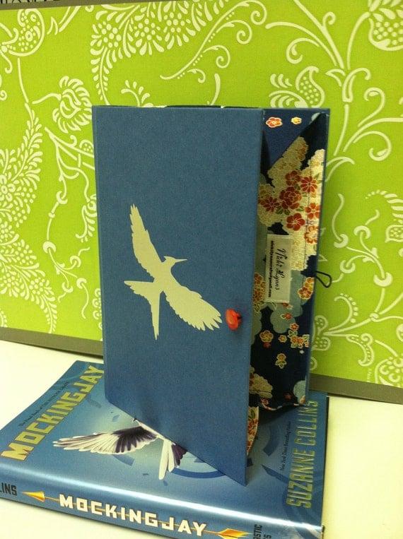 "Hunger Games ""Mockingjay"" Book Clutch"