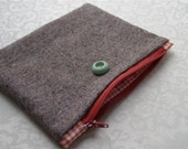 Cosmetic Make Up Bag 'Pettersson', handmade