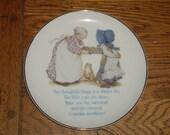 Holly Hobby decorative plate for Gandma