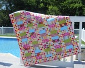 Spunky & Sweet Baby Girl Quilt / Toddler Quilt
