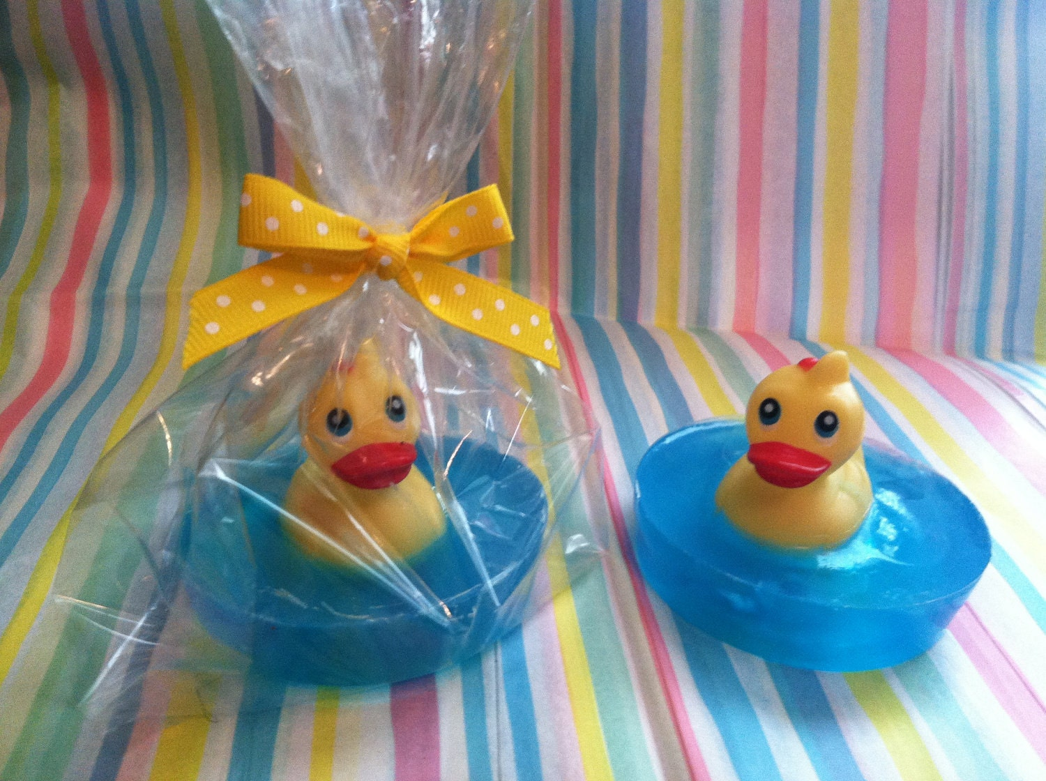 Rubber Ducky Soapbaby Shower Party Favors Baby Soap Ducky