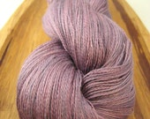 Silk lace - Sugared Violets 2, hand-dyed, 100% silk 2-ply 1094 yds