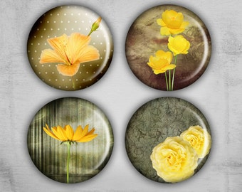 Digital Collage Sheet - 1 inch Circle Images - Instant Download for resin pendants, glass pendants, magnets or bottle caps - MAGICAL
