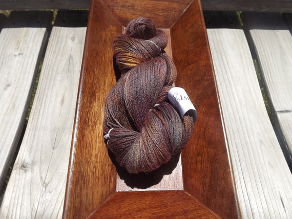 The Girl Who Believed - Hand Dyed - Merino/Silk Fingering Weight Yarn  - 440 Yards