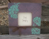LIve Simply Embroidered Sampler