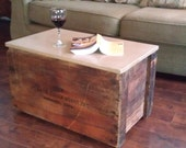 Rolling Box Table