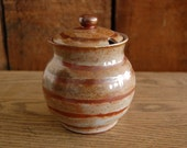 a honey-colored honey pot RESERVED for Bobbi Estabrook