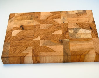 Large Cutting Board 11x17x2 - Spring Orchard Sharp Chef